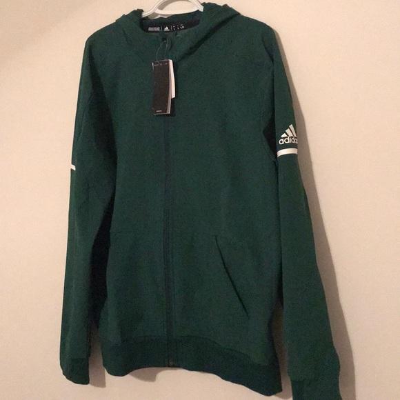 Adidas Squad Full Zip Jacket   RealVolleyball